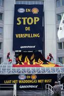 Activists Block Entrance NAM Assen