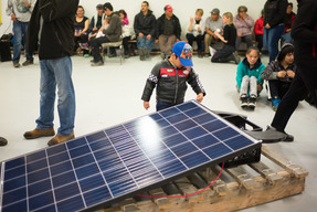 Solar Energy Celebrations at Clyde River Community Center