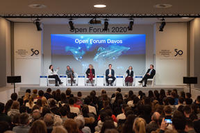 Disposable Society Session at the World Economic Forum in Davos