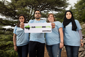 """Our Voices Are Vital"" Activity in Lebanon"
