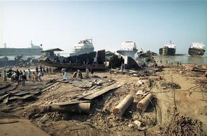 Shipbreaking in Chittagong