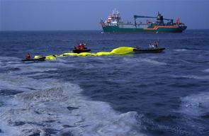 Toxics Action against Sea Dumping at Coast Scheveningen