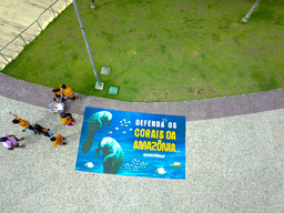 World Amazon Reef Day in Manaus, Brazil