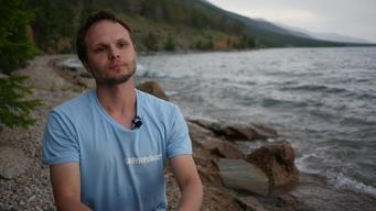 Waste Audit on the Shore of Lake Baikal - Interview