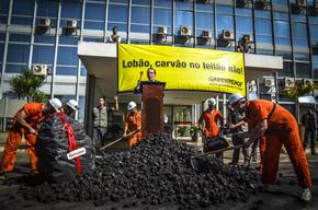 Action against Coal Power Auction in Brazil