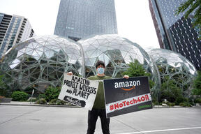 Message for Amazon in Seattle