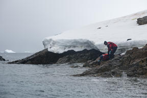 Water Sampling in the Antarctic