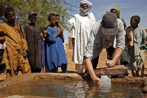 Surveying Water in Niger