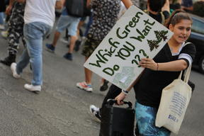 Climate March in Beirut, Lebanon