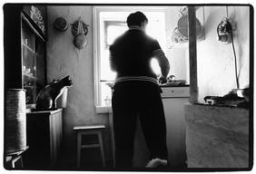 Ludmilla Nekharasova Preparing Lunch for the Family