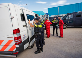 Police Ends IOI Palm Oil Company Blockade in Rotterdam Harbour