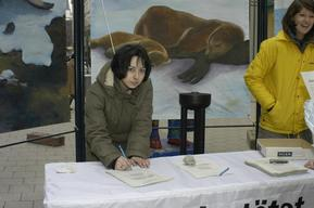 Action against Canadian Seal Hunt in