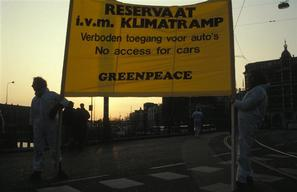 Climate Action Blockade in Amsterdam