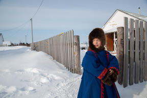 Indigenous Child in Siberia