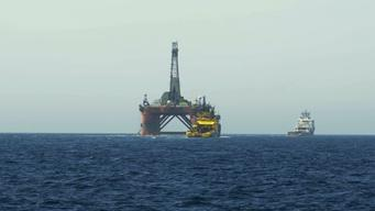 MY Arctic Sunrise Continues to Follow BP Rig & Supports Ships in North Sea - UPDATED B-roll