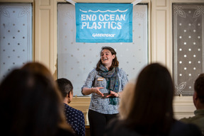 End Ocean Plastics Launch Event in Edinburgh