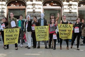 Zara 'Detox' Day of Action in Mexico
