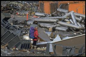 US McMurdo Base Garbage Dump