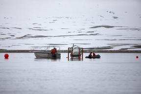 Operating Mesocosms in Svalbard