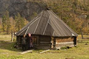 Traditional House in Siberia