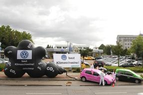 Climate Action at Volkswagen in Hamburg