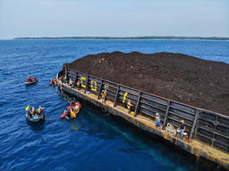 'Coral Not Coal' Direct Action at Karimunjava Archipelago in Java Sea