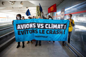 Air Traffic Protests at Roissy-Charles de Gaulle Airport