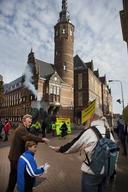 Protest Against Coal Plant in Groningen