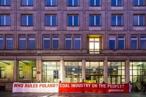 World Coal Summit Protest in Warsaw