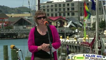 Flotilla for 'Oil Free Seas' in New Zealand
