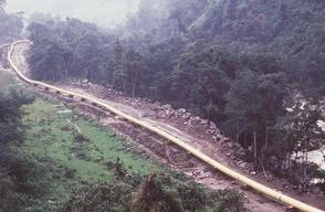 Oil Pipeline Construction in Ecuador