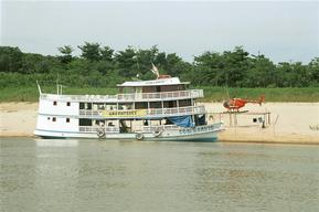 Comandante Savio riverboat, Amazon, Brazil.