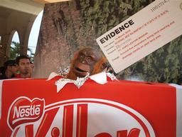 Forest Action at Nestlé HQ in Jakarta