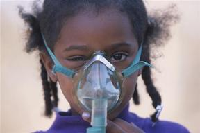 Girl with Respiratory Problems in Louisiana